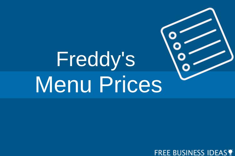 freddy's menu prices
