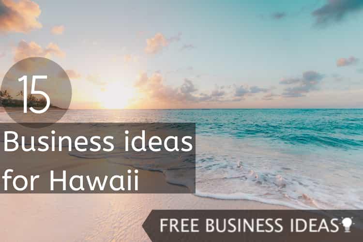 business ideas for hawaii