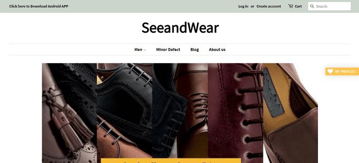 seeandwear shoes india