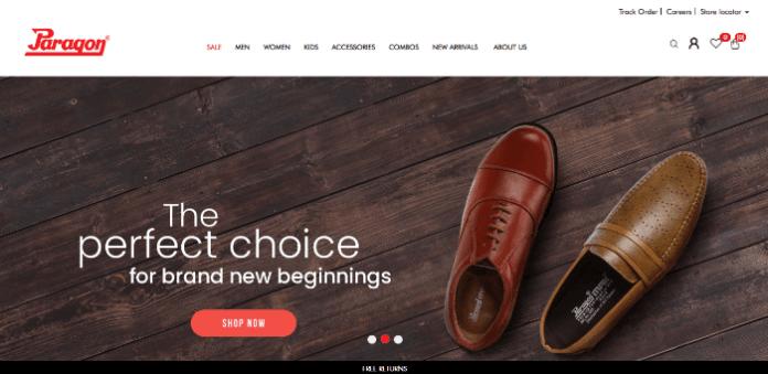 paragon shoes india