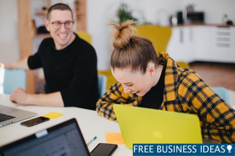 Business Organized talking