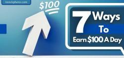 ways to make 100 dollars a day