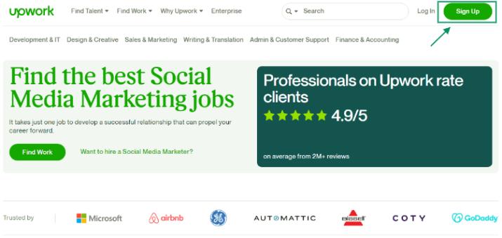 social media marketing jobs upwork