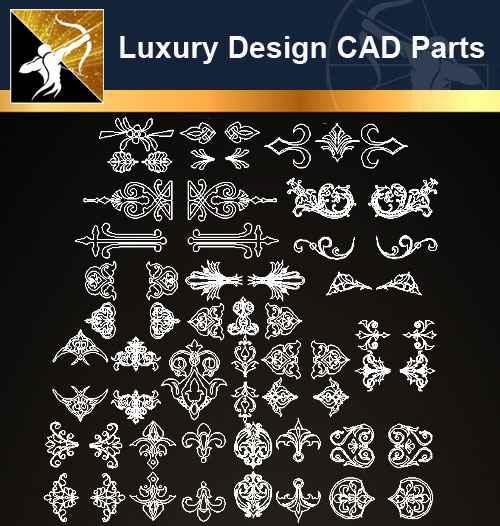 ☆【Architecture Decoration Design Element CAD Blocks V 5