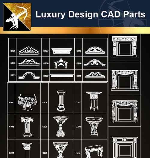 ☆【architecture decoration design element cad blocks v.6】@autocad