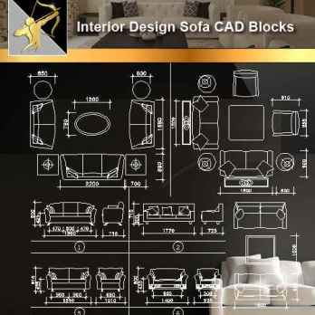 Sofa CAD Blocks
