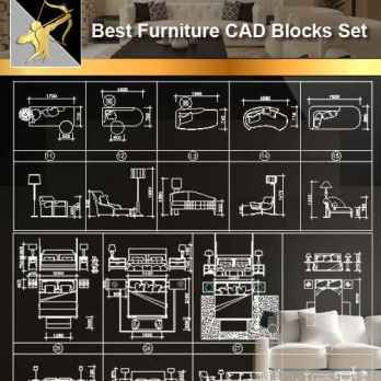 Furniture CAD Set