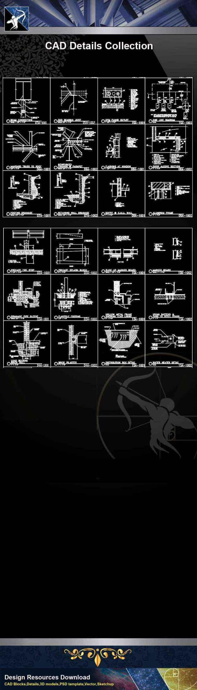 【Architecture CAD Details Collections】CAD Details Collection