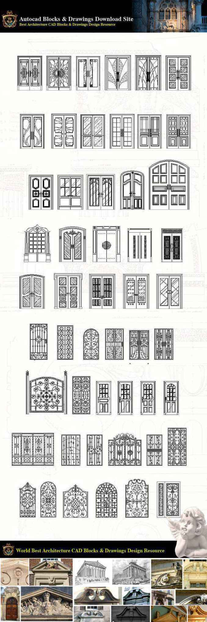 ★【Neoclassical Style Decor CAD Design Elements V 8】Neoclassical interior,  Home decor,Traditional home decorating,Decoration