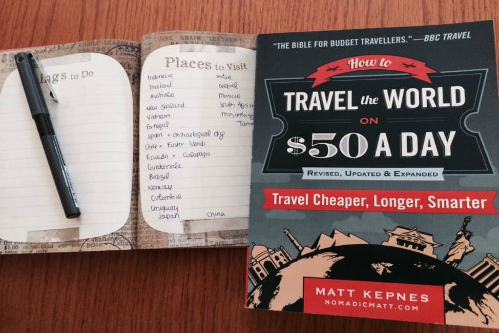 Image result for how to travel the world on $50 a day