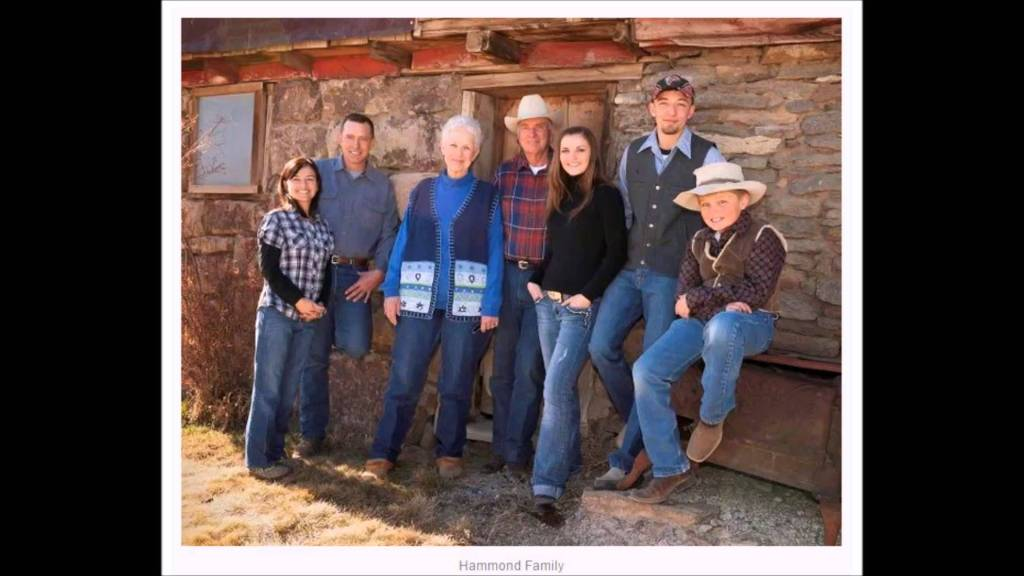 Hammond Family, Burns, Oregon.