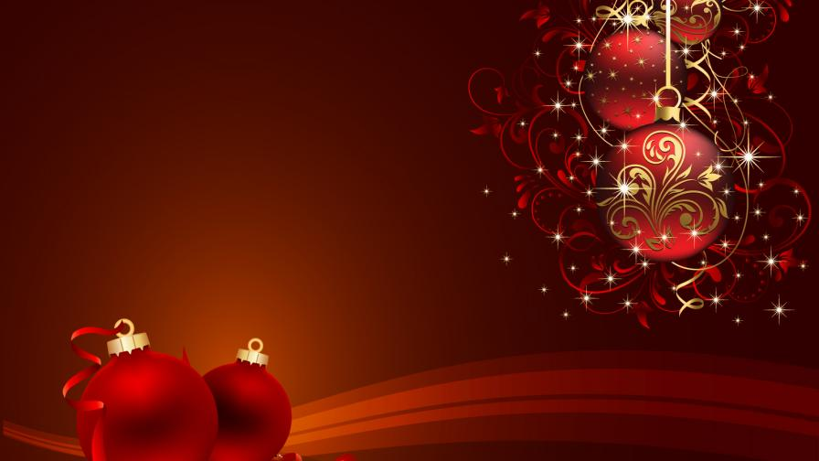 After Christmas Ornaments Wallpaper