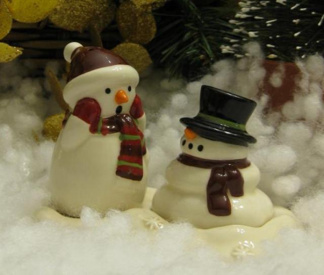 Melting Snowman Wallpaper