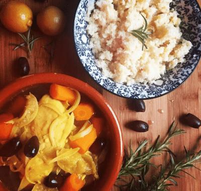 tajine poulet citron olives