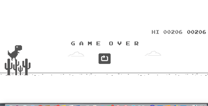 How to Play the No Internet Google Chrome Dinosaur Game - Both Online and Offline 3