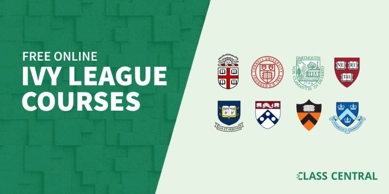 Here are 450 Ivy League courses you can take online right now for free
