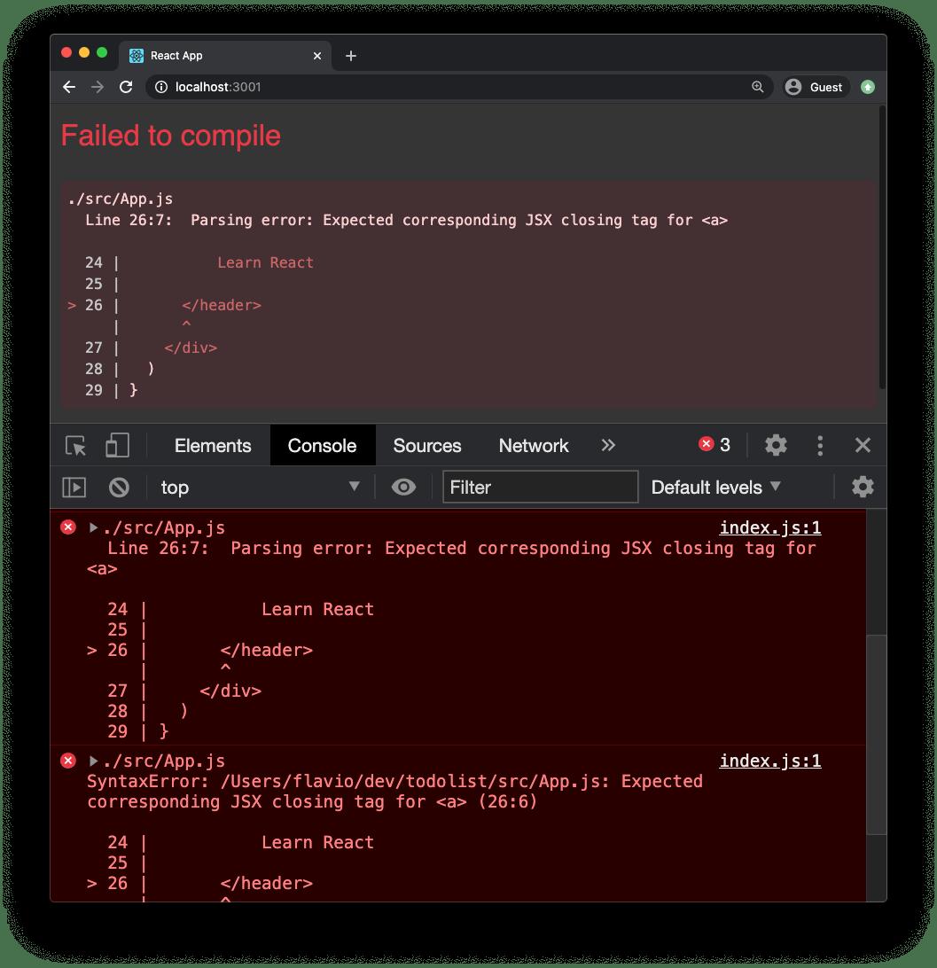 jsx-error