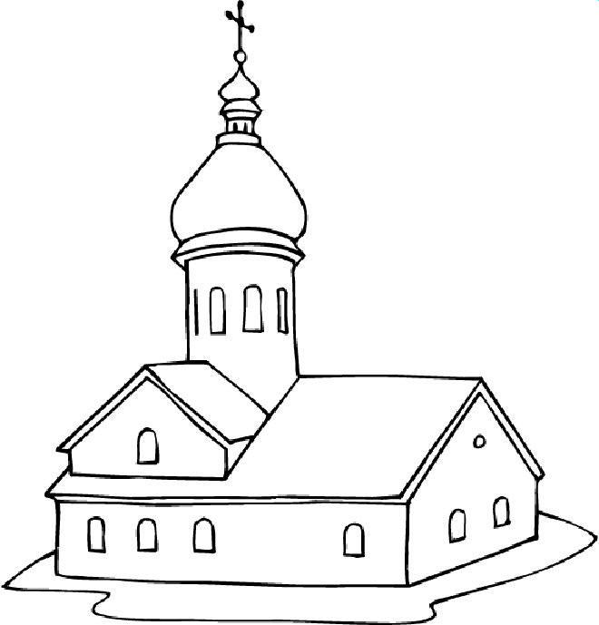 churches colouring
