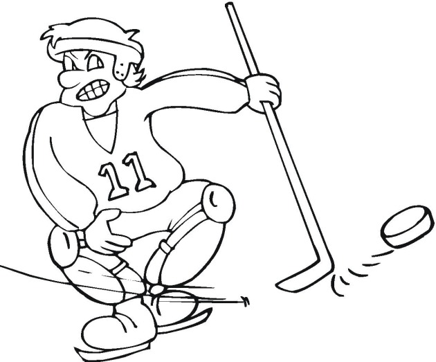 hockey hockey color page sports coloring pages color plate coloring