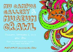 Mizzou Art-i-Fact 2012 postcard