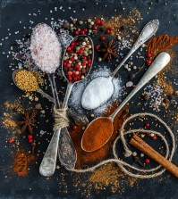 variety of spices representing ways to make a webinar conference call more interesting