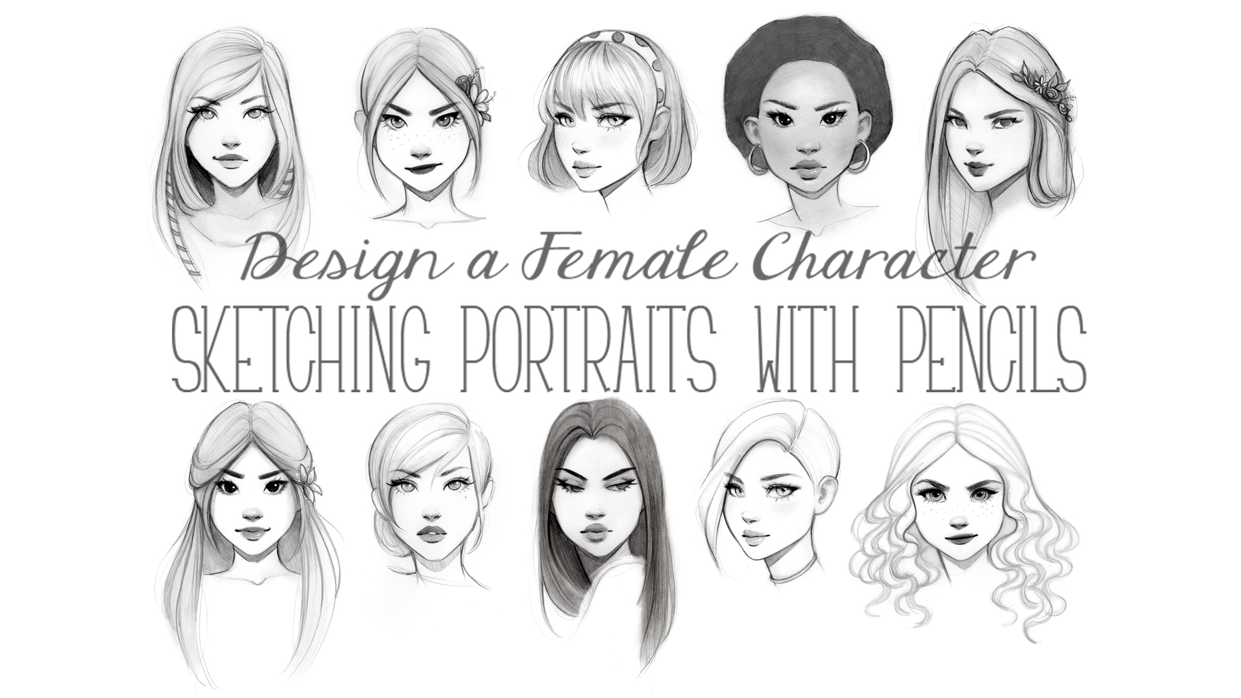 Skillshare Design A Female Character Sketching