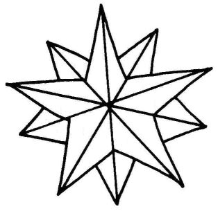 christmas star coloring page aaldtk
