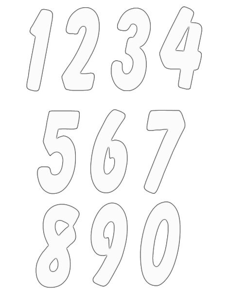 Template Numbers. crafter 39 s workshop numbers collage template ...