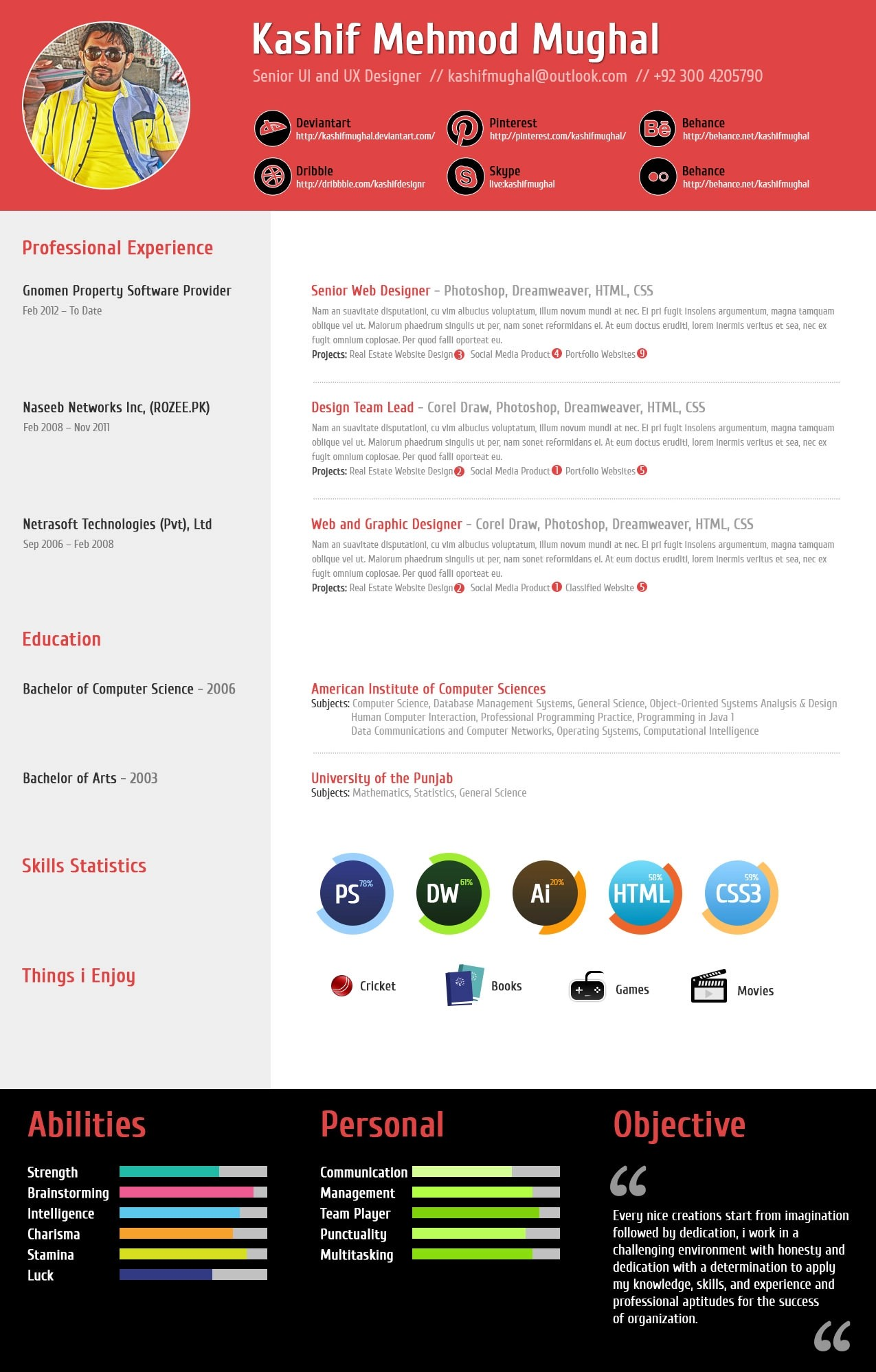 professional resume that will lead you to success full image