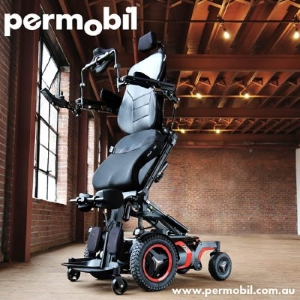Image result for permobil standing wheelchair