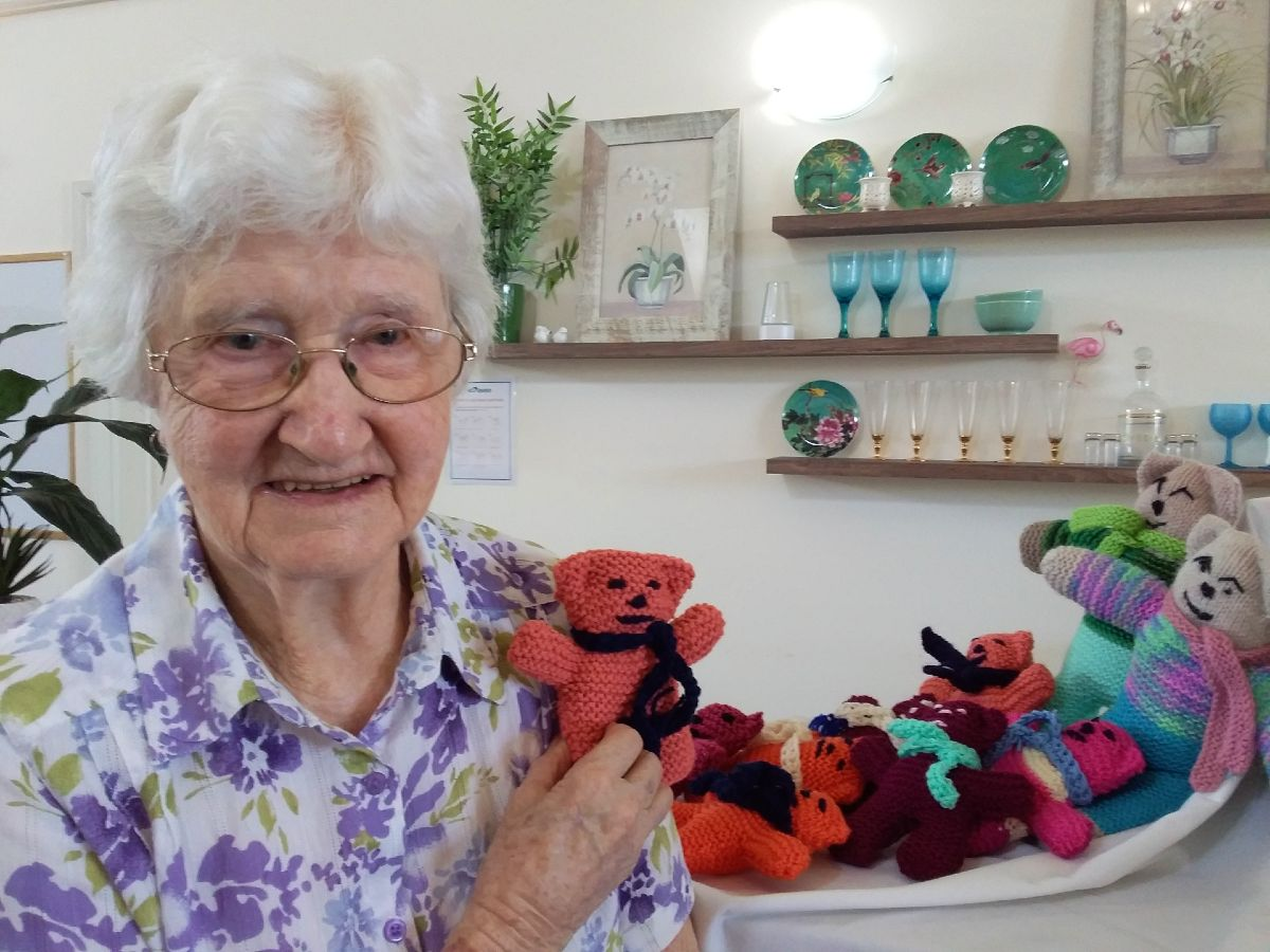 Knitting for a great cause