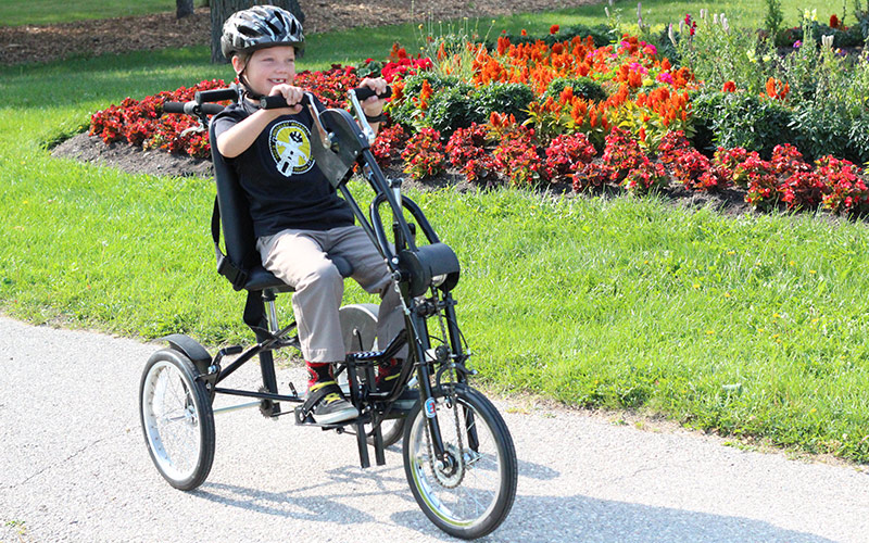 Upright Handcycle