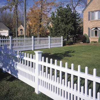 A White Picket Fence And The American Dream Freedom Fence Deck