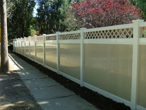 Photo: All-Weather Vinyl Fence
