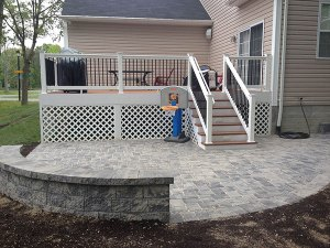 Paver Patio 15