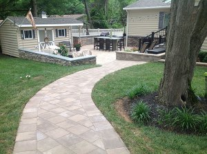 Paver Patio 3