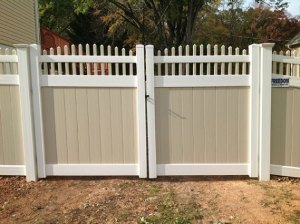 replacing an aging fence