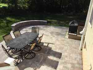 Outdoor Living Space Freedom Fence