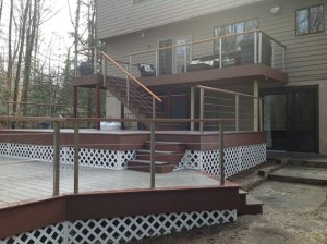 Beautiful Custom Decks Freedom Fence & Deck