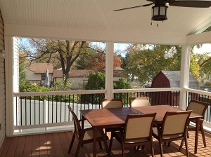 Screened Porches in Bel Air, MD Freedom Fence