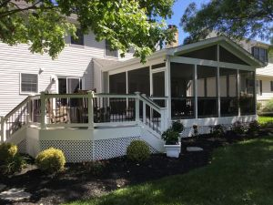 Screened Porches in Harford County Freedom Fence