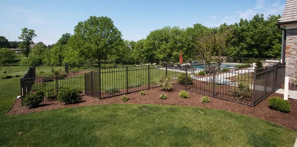 backyard dog fence ideas designs
