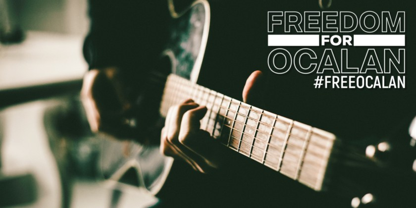 The Musicians Union affiliates to the Freedom for Ocalan campaign