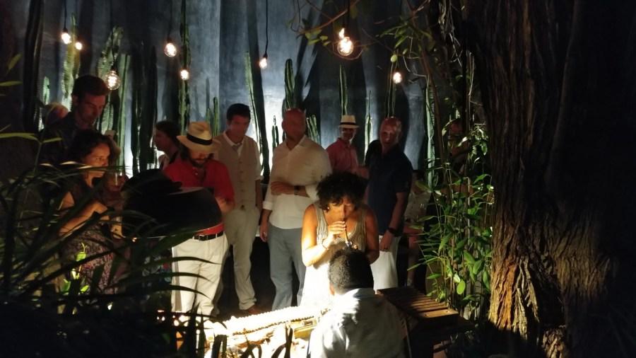 Cigar Roller at Gitano Loves Wedding Tulum