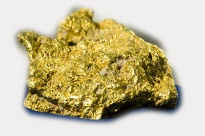 Gold metal ore
