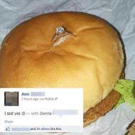 burger_engagement_ring_cheap