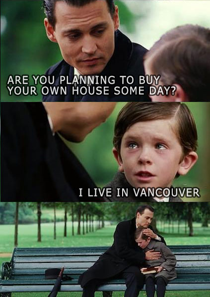 Finding Neverland real estate meme