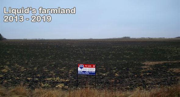 my Saskatchewan farmland. SK has some of the cheapest farmland in the country.
