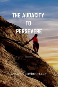 Poem: The Audacity to Persevere