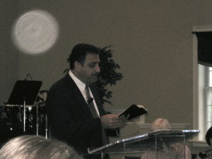 andrew teaching in 2009